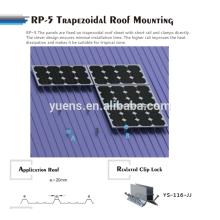 Трапеция Металлическая Крыша Панели Солнечных Батарей Для Монтажа В Стойку