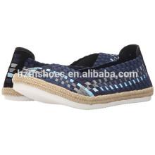 Soft Weave Espadrille Shoe Flat Shoes