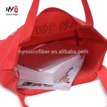 venda quente saco de compras oxford vermelho durável