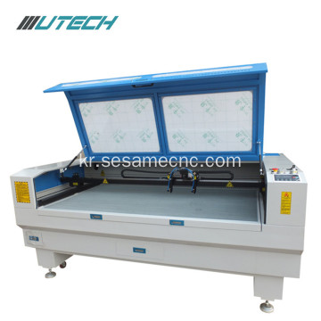 Plywood plastics bamboo leather laser cutting machine