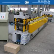 Máquina formadora de rolo de placa de quilha