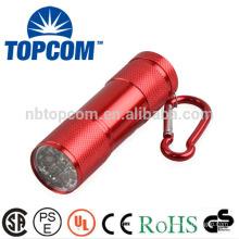 pocket emergecy mini 9 led light torch