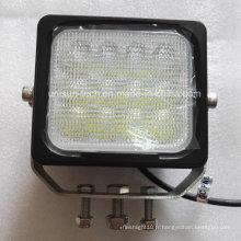 24V 5inch Auxiliaire 60W LED hors route Feuilles de travail