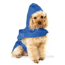Cão de estimação Doggy capa de chuva capa de chuva impermeável ao ar livre