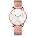 Newest Relojes Hombre Full Grain Leather Strap Male Quartz Watch