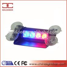 Strobe interior aviso luz 4W Led luz viseira