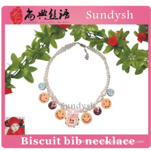 fashion wholesale beaded bubble kids chunky necklace