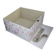 Folding White Matt Garment Packaging Box