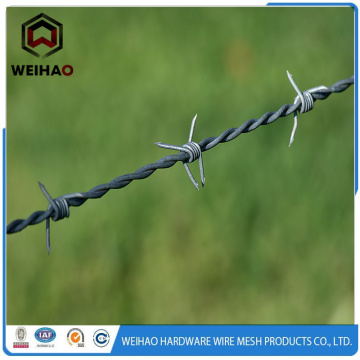 commercial barbed fence