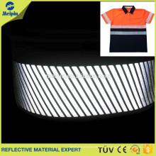 Película reflectante de transferencia de calor segmentada / Hierro en cinta reflectante de transferencia de calor