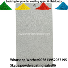 Exterior environment RAL Color Polyurethane powder Coating Paint