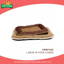 Plush Warm Dog Bed, Pet Cushion (YF87123)