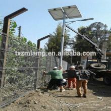 nouveau venu YANGZHOU réverbère solaire économiseur d'énergie / avec les poteaux octogonaux de réverbère