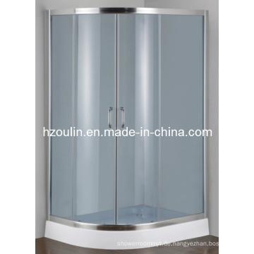 Grau Farbe gehärtetes Glas Duschgehäuse (E-22 niedrige Schale)