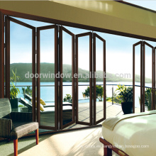 Villa sol habitación personalización rotura térmica aluminio decoración puerta panel de vidrio puerta corredera
