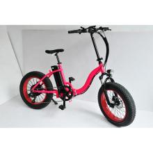 NBpower Electric bicycle foldable fat tire 20inchx4.0 500w snow electric bike