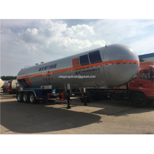 62cbm LPG Caustic Tank Transport نصف مقطورة