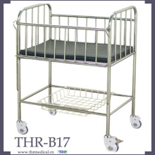 Cama infantil de acero inoxidable (THR-B17)