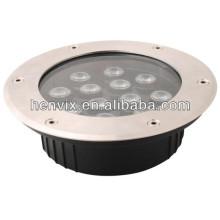 220V 12w haute qualité led lumière souterraine