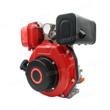 New Design 178F EPA 296Cc Chinese Agricultural Latest Electric Start Single 1 One Cylinder Aircooled Small Diesel Engines