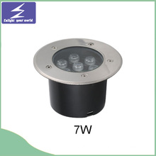 7W Stainlness Steel Underground LED begrabenes Licht