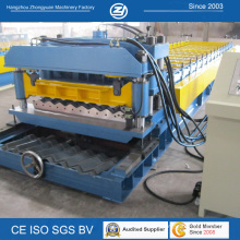 Step Tile Roll Forming Machine Tile Roofing Panel Cold Roll Forming Machine