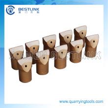 Diferentes tipos de perforación brocas de cincel para la explotación minera de roca