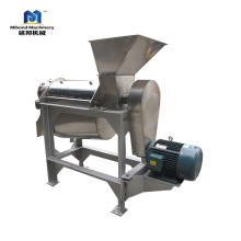 Stainless Steel Vegetable Pulp Machine Industrial Fruit Pulping Single Channel Beater