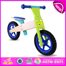 New Product Children Balance Bike, Wooden Toy Children Balance Bike Wholesale, Latest Design Wooden Bike Toy for Kids W16c095