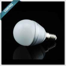 G40 2W aluminium ampoule LED Dimmable Light