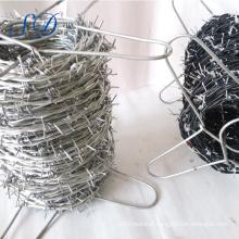 Instaladores galvanizados do arame farpado de 2.5mm