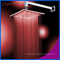 Fyeer 304 stainless Steel Chrome Plated LED Shower Head