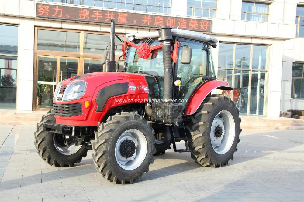 agricultural machinery in great quality control