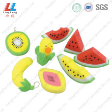 Three-dimensional Fruit Bath Sponge Item