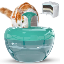 Fontaine brevetée à 5 couches pour filtration pour animaux de compagnie