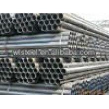 ASTMA53 / A106 B sch40 tube de ponceau ondulé galvanisé
