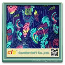 Новый стиль Мода Красочные авто текстильной продукции печатных флисовая ткань Ткань жаккард авто