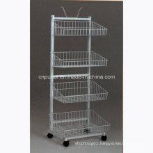4 Tier Floor Storage Shelf (pH12-012)