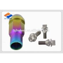 titanium lug bolt and nut M12/M14