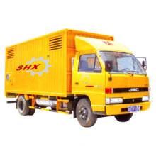 Mobile Generator Mounted on Vehicle
