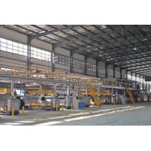 Línea de producción de cartón corrugado de cinco capas