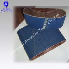 GXK51 bande de ponçage de diamant de tissu abrasif diamant ceinture Emery