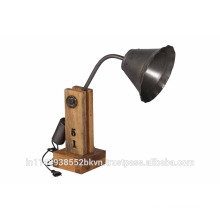 Classic Wood Table Lamp