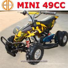 Presagie la cantidad asegurada niños 49cc Mini Quad ATV para la venta
