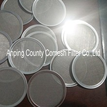 Stainless Steel Bound Coffee Filter Discs