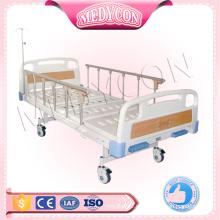 MDK-T301 Cama de hospital manual de alta calidad del equipo médico con dos funciones