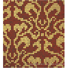 Bisazza Gold Mosaic Pattern Fliese für Wanddekoration (HMP647)