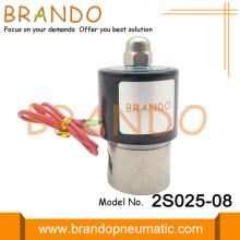 Válvula solenoide de acero inoxidable 2S025-08