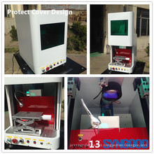Syngood 10W/20W/30W gold and silver laser engraving machine fiber laser marking machine Protection Cover Design