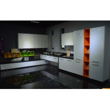 Modern Glossy Wooden Lacquer Painting Kitchen Cabinets with Many Colors to Choose (MOQ 1 set)